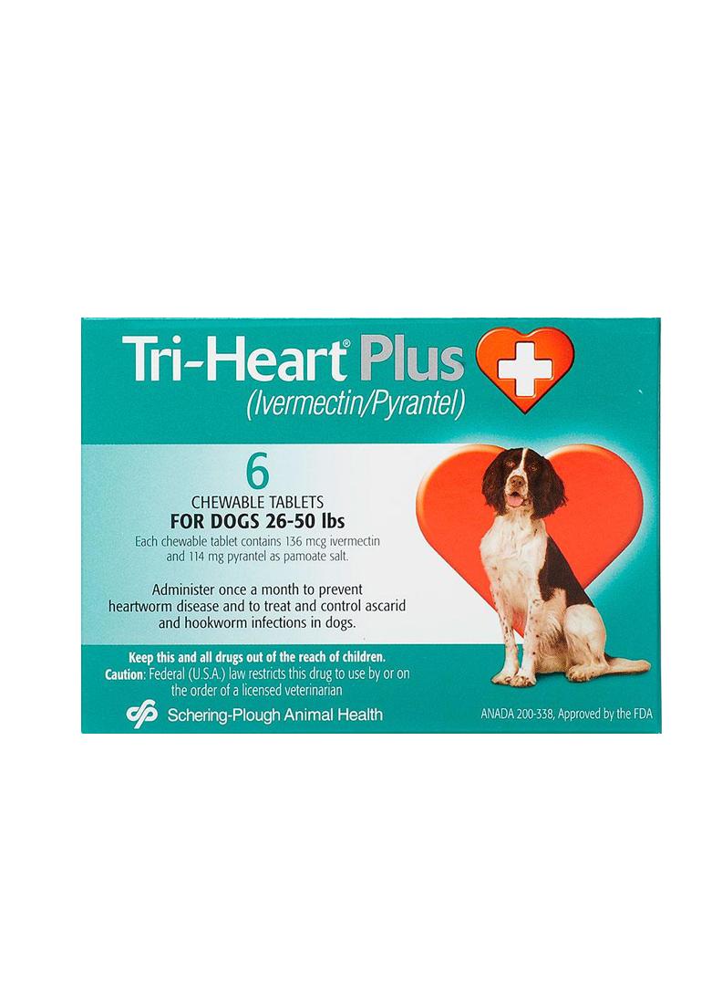 Triheart Green Medium Dog (Prescription Needed)