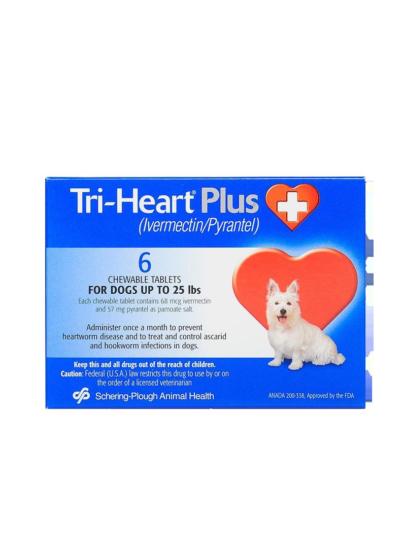 Triheart Blue Small Dog (Prescription Needed)