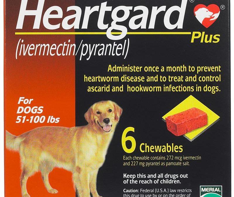 Heartgard Plus Chew Red 22-45kg (Prescription Needed)