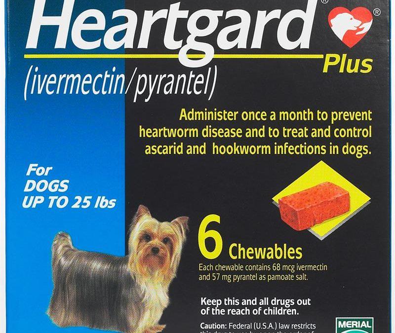 Heartgard Plus Chew Blue 0-11kg (Prescription Needed)